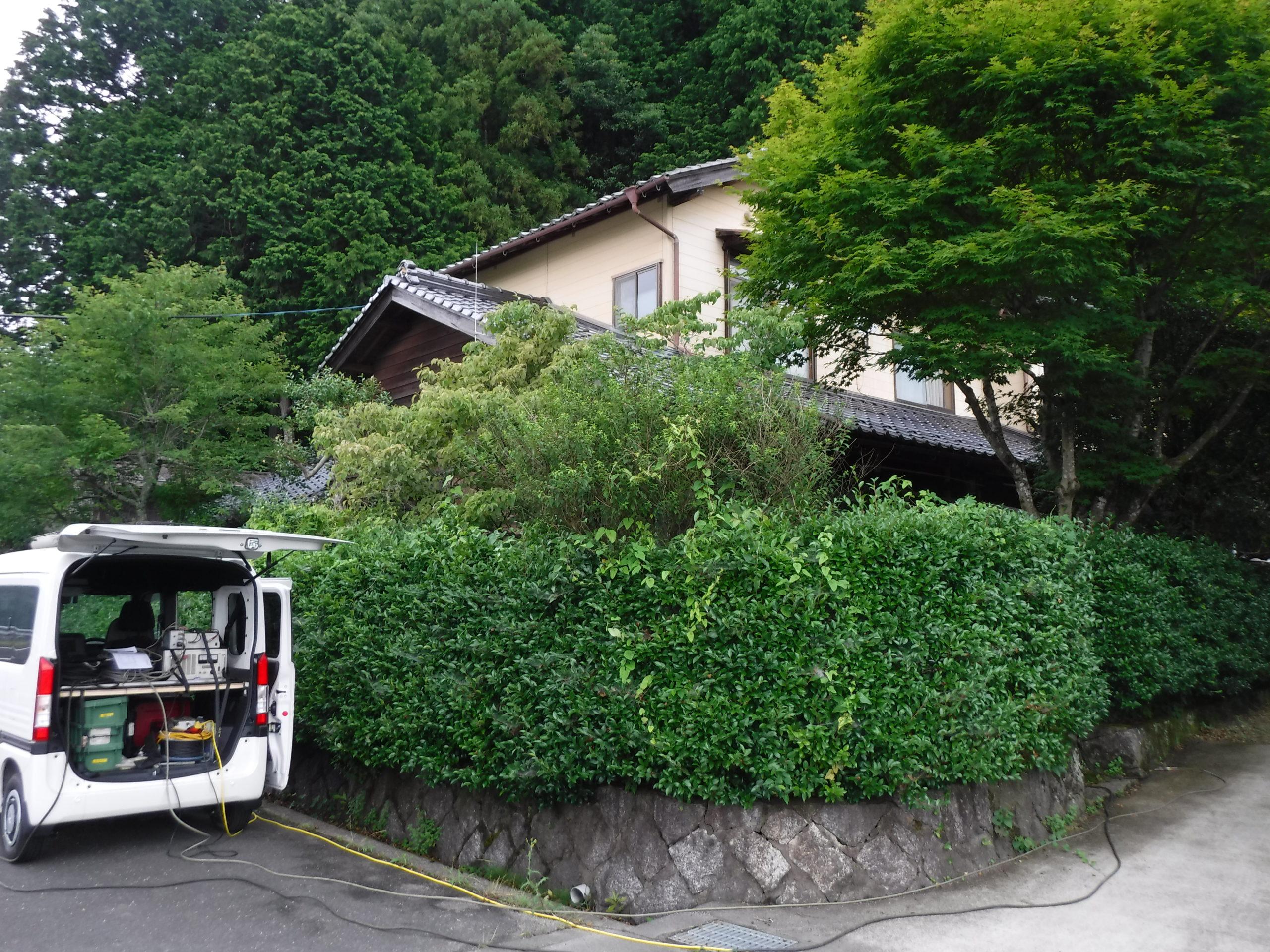 京都 設計事務所 離れ沈下修正工事