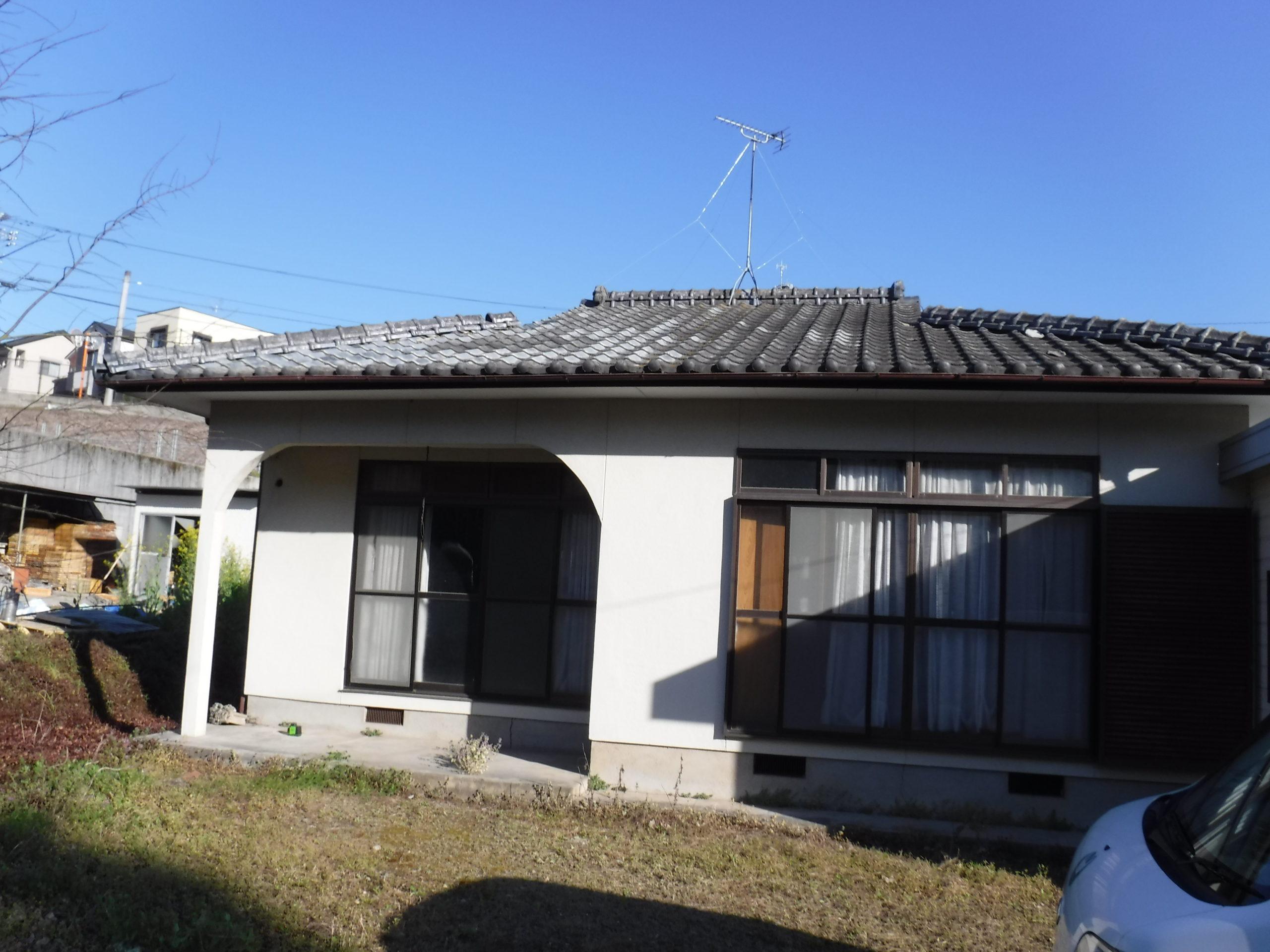 熊本県北区 平屋建て沈下修正