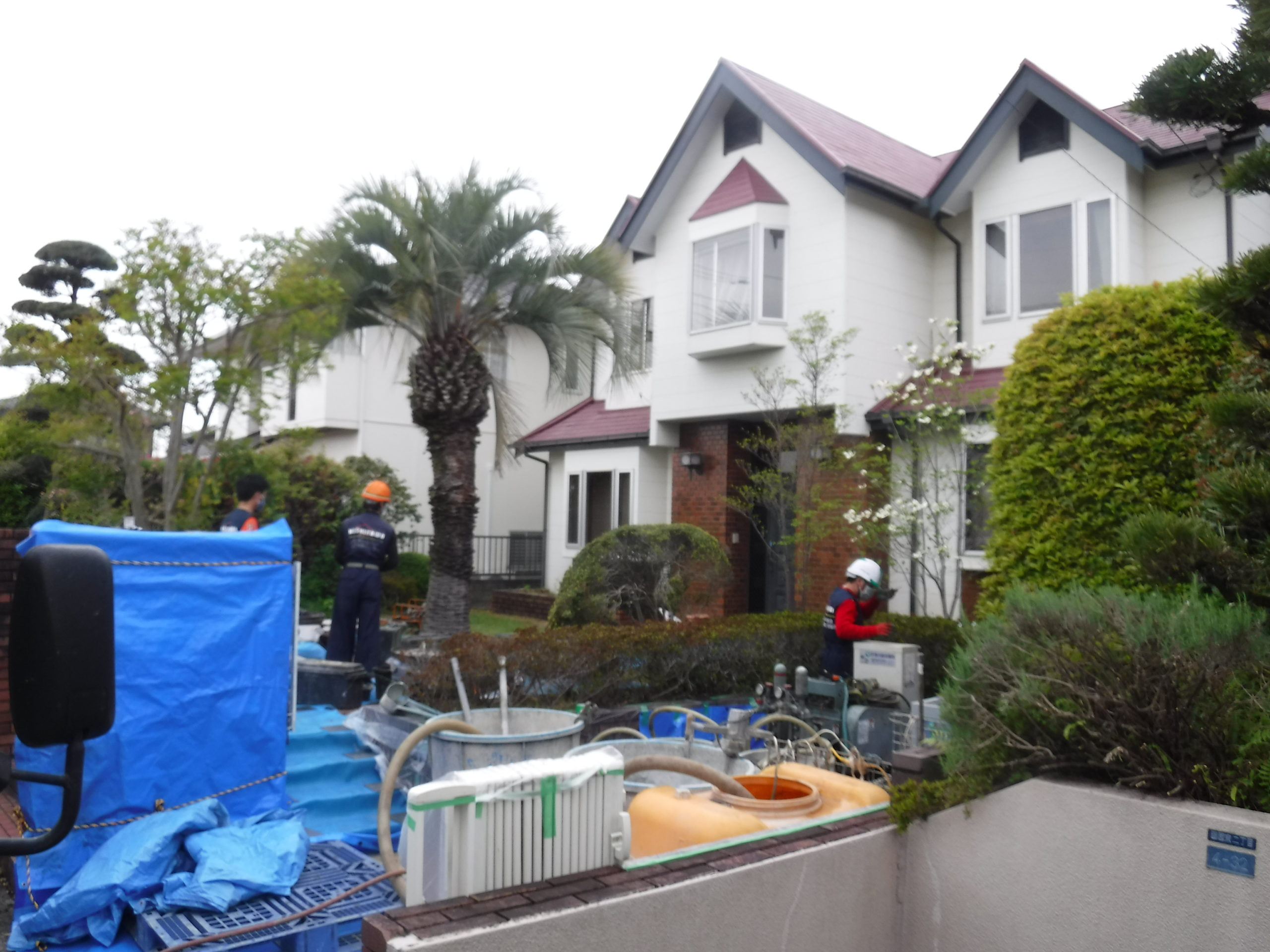 熊本県 中古住宅売買は建物を水平にして